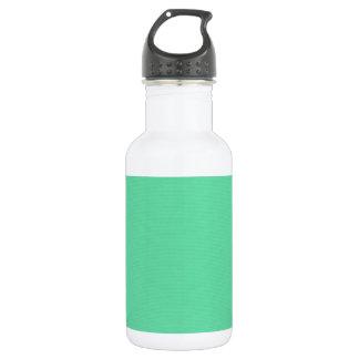 solid-seafoam SEAFOAM LIGHT BLUISH GREEN BACKGROUN Water Bottle