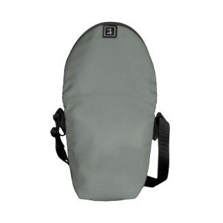 Solid Silver Gray Courier Bags