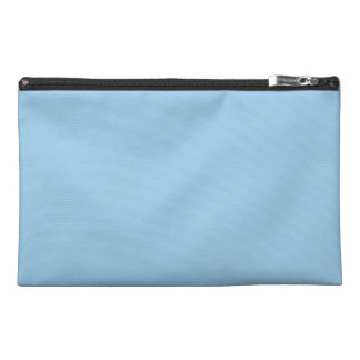 Solid Sky Blue Travel Accessories Bag