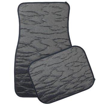 Solid Slate Gray Car Floor Mat