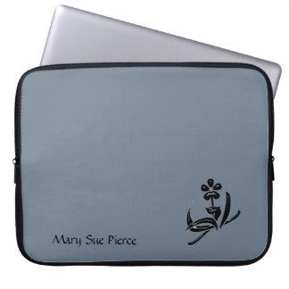 Solid Slate Gray Computer Sleeve