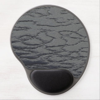 Solid Slate Gray Gel Mouse Pad