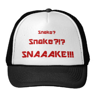 Solid Snake is Dead Trucker Hat