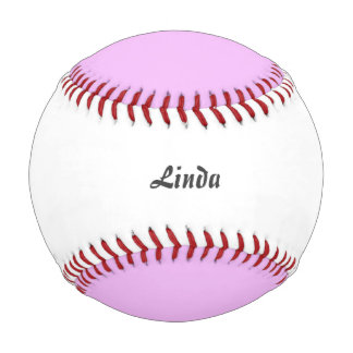 Solid soft PINK Baseball