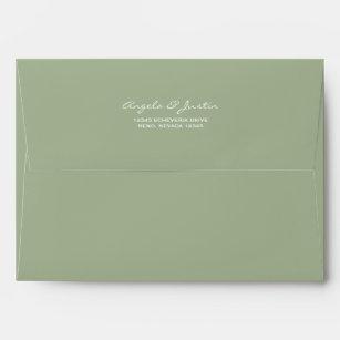 green envelopes zazzle