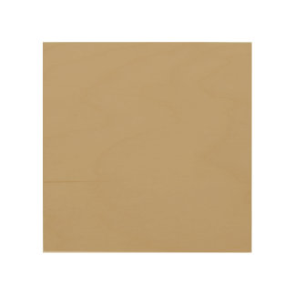 Solid Tallahassee Beige color Wood Wall Art