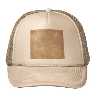 solid-TAN GRUNGE SOLID MARBLE TAN NEUTRAL CREAM CR Hat