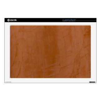 """Solid Tangerine 17"""" Laptop Decal"""
