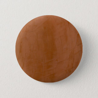 Solid Tangerine Pinback Button