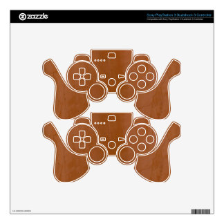 Solid Tangerine PS3 Controller Decal