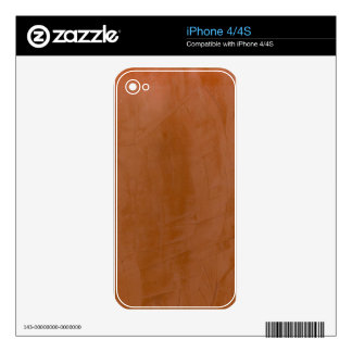 Solid Tangerine Skins For The iPhone 4