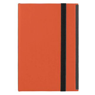 Solid Tangerine Tango iPad Mini Cover