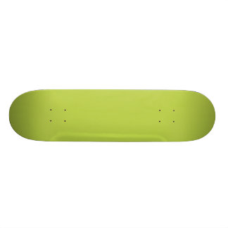 Solid Tender Shoots Green Skateboard Deck