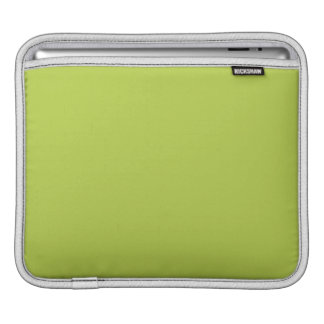 Solid Tender Shoots Green Sleeve For iPads