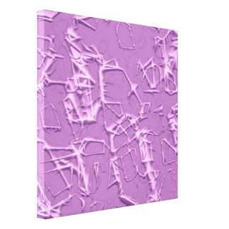solid thorns, lilac (I) Canvas Print
