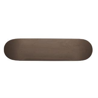 Solid Umber Skateboard Deck