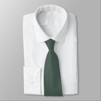 Solid Viridian Green Satin Tie