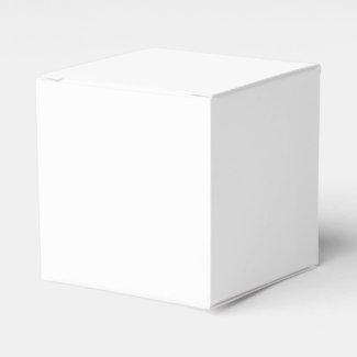 Solid White Favor Box