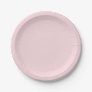 Solid White 7 Inch Paper Plate