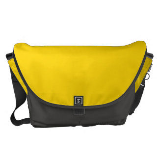 Solid Yellow Messenger Bags