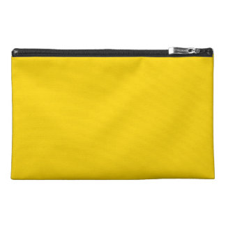 Solid Yellow Travel Accessory Bags