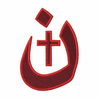 Solidaridad cristiana de la cruz del símbolo del