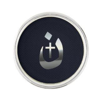 Solidaridad cristiana del Nazarene en el carbono Pin