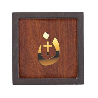 Solidaridad cristiana del Nazarene y de la cruz Caja De Joyas De Calidad