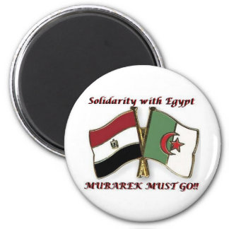 Solidaridad de Egipto Imán Redondo 5 Cm