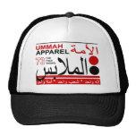 Solidaridad de la paz de la fe de la ropa de Ummah Gorros