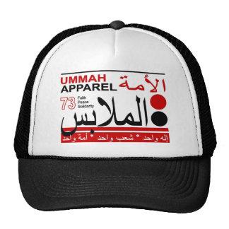 Solidaridad de la paz de la fe de la ropa de Ummah Gorro
