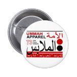 Solidaridad de la paz de la fe de la ropa de Ummah Pin