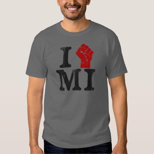 Solidaridad de Michigan Playera