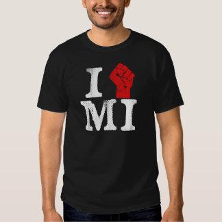 Solidaridad de Michigan Poleras