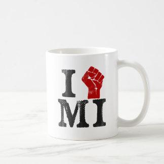 Solidaridad de Michigan Taza