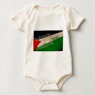 Solidarité pour la Palestine Baby Bodysuit
