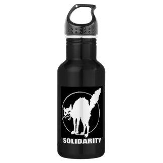 solidarity 18oz water bottle
