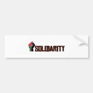 Solidarity Car Bumper Sticker