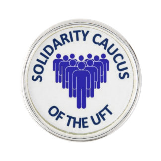 SOLIDARITY CAUCUS OF THE UFT LAPEL PIN