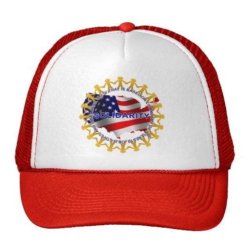 Solidarity Circle Trucker Hat