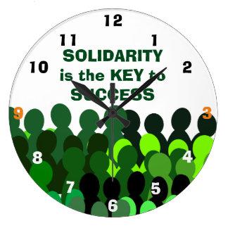 Solidarity clock