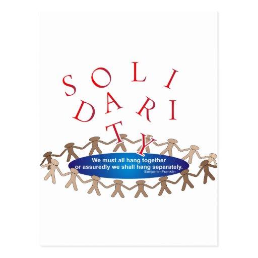 Solidarity Expressions Postcard