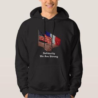 Solidarity Men's Basic Hooded Sweatshirt