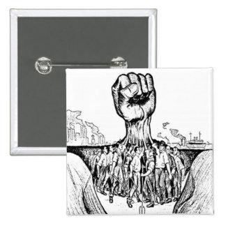 Solidarity Pinback Button