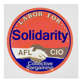 SOLIDARITY Union Poster