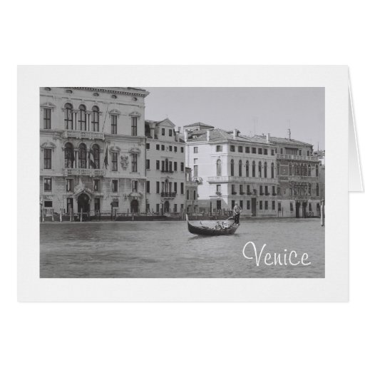 Solidarity, Venice Stationery Note Card