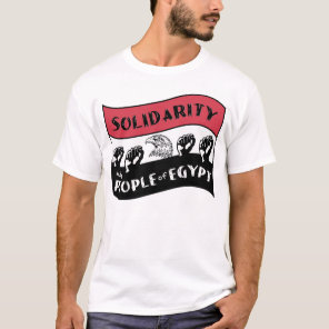 Solidarity with People of Egypt T-Shirt
