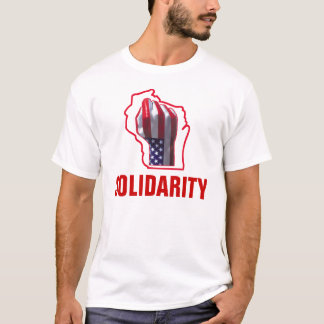 Solidarity with Wisconsin Workers T-Shirt