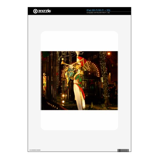solider del navidad calcomanías para el iPad