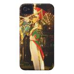 solider del navidad Case-Mate iPhone 4 protectores